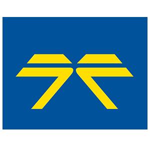 Železničné stavby a.s. Logo